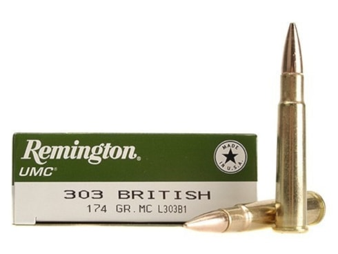 Remington .303 british core-lokt ammunition